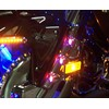 1800 Red,Amber, Blue LED Fork Light Kit